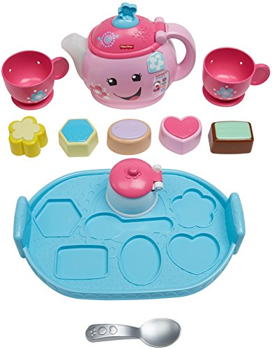 51t41vQICuL - Fisher-Price Laugh & Learn Sweet Manners Tea Set