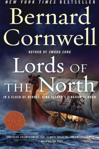 Book cover from Lords of the North by Bernard Cornwell