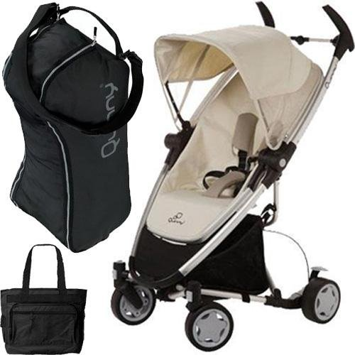 Quinny CV217BFY Zapp Xtra with diaper bag and Travel Bag- Natural Mavis
