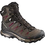 Salomon Women's X Ultra Winter CS Waterproof W Snow Boot, Absolute Brown/Brown Black/Bordeaux, 7.5 M US
