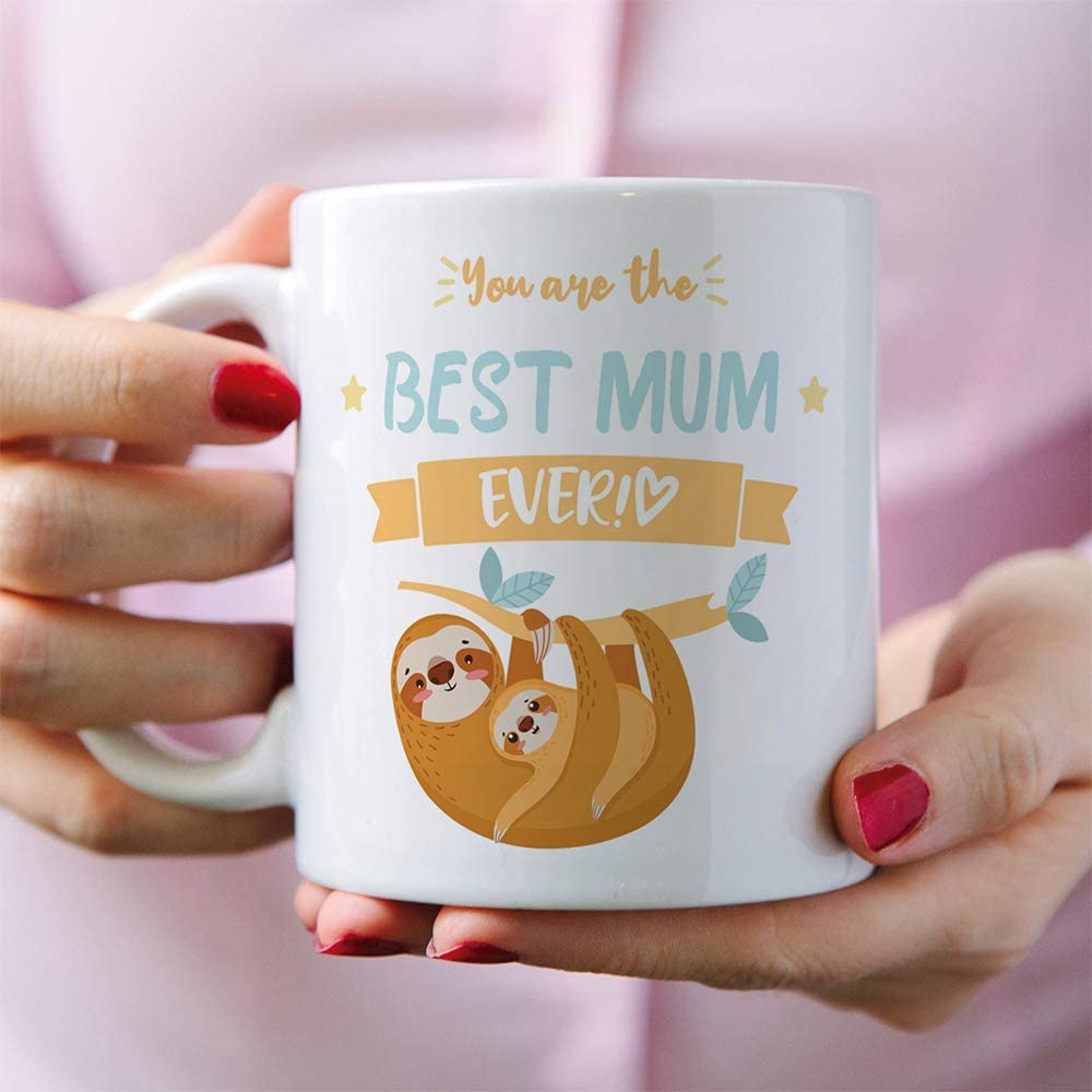 MUGFFINS Mum Mugs Model 1 Funny Mothers Day Gifts from Daughters /& sons Great Job Mum