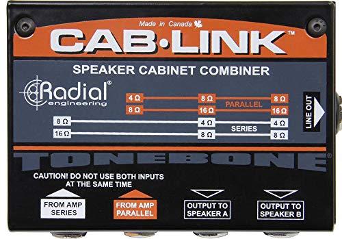 Radial Cab-Link Speaker Cabinet Combiner (Cabinet Speaker Cab)