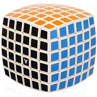 V-Cube 6x6 White Pillowed Cube: Toys & Games