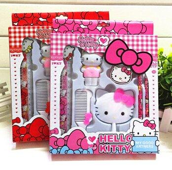 Kawaii Hello Kitty Estuches Escolares espejo Peine borrador ...