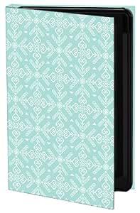 Keka Classic Georgina Vasilou Stitch - Funda rígida para iPhone 5, diseño estampado, color verde