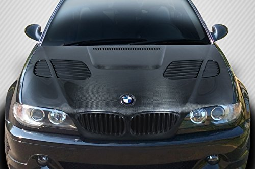 Carbon Creations ED-RNQ-205 DriTech GTR Hood - 1 Piece Body Kit - Compatible For BMW 3 Series 2004-2006