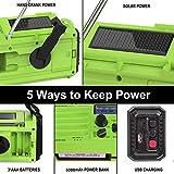 OnLyee Emergency Solar Hand Crank Portable