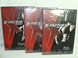 WEIDER X-FACTOR 3 DVD SET (2009) ABS WORKOUT, TOTAL BODY & EXPLOSION WORKOUT by Weider