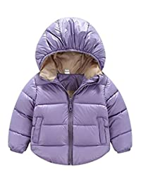 Toddler Baby Boys Girls Puffer Cotton-padded Coat Jacket Kids Clothes