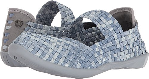 Bernie Mary Jane Mix Shimmer Cuddly Flat Women's Mev Cloud 7qrfZatw7x