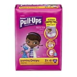 (2 Pack) Pull-Ups Training Pants for Girls, Size 3T-4T, 22 Count (Packaging May Vary)