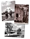 Avanti Historic America Blank Notecards in Assorted Designs, Little Country Boys, 10-Count