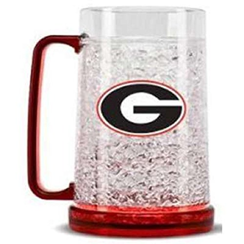 Georgia Bulldogs UGA NCAA Crystal Freezer Mug by Casey's ()