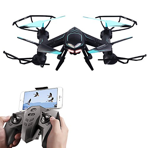 Rabing RC Quadcopter Flight Path FPV VR Wifi RC Drone 2.4GHz 6-Axis Gyro Remote Control Drone With HD 2MP Camera Drone