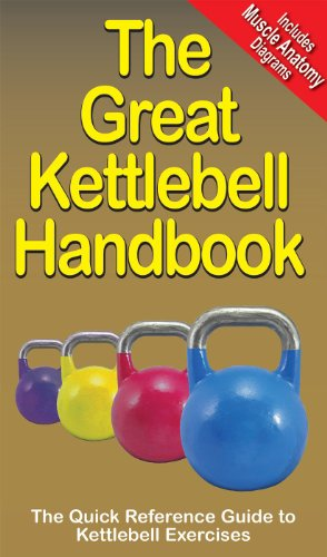 KETTLEBELL HANDBOOK The Great Book Workout Guide Crossfit Fitness Exercise KB