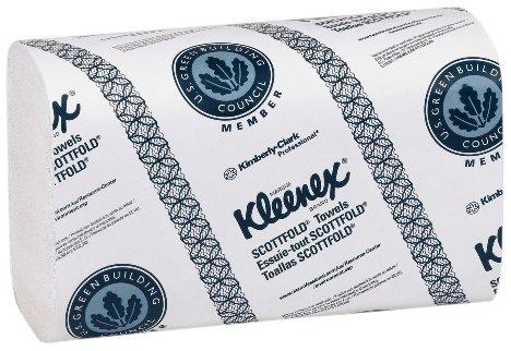 Kimberly-Clark Professional 1999 Kleenex Paper Towel, Scott-Fold, 9.4