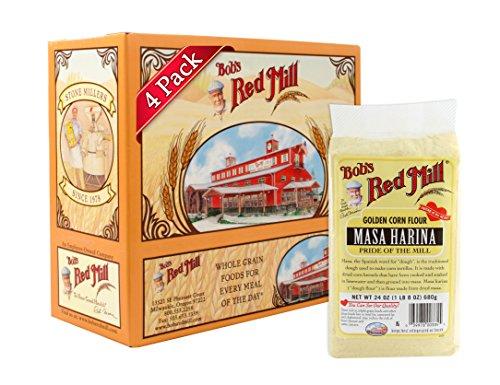 Bob's Red Mill Golden Masa Harina Corn Flour, 24 Ounce (Pack of 4) (Corn Masa Flour compare prices)