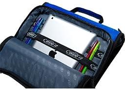 Case-it Universal 2-Inch 3-Ring Zipper Binder, Holds 13 Inch Laptop, Black, LT-007-BLK