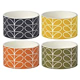 Orla Kiely | Linear Stem | Ramekins | Set of Four | Ceramic