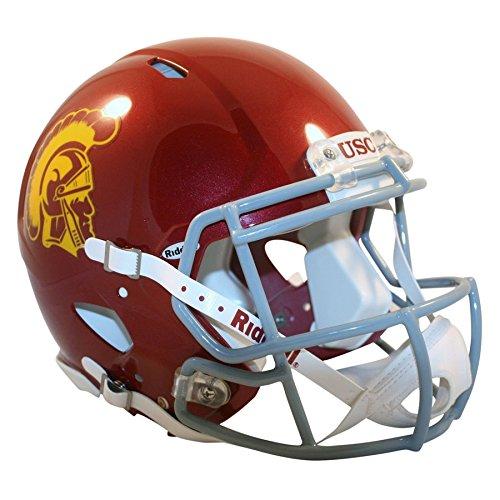 Riddell USC Trojans Officially Licensed Revolution Speed Authentic Football Helmet ()