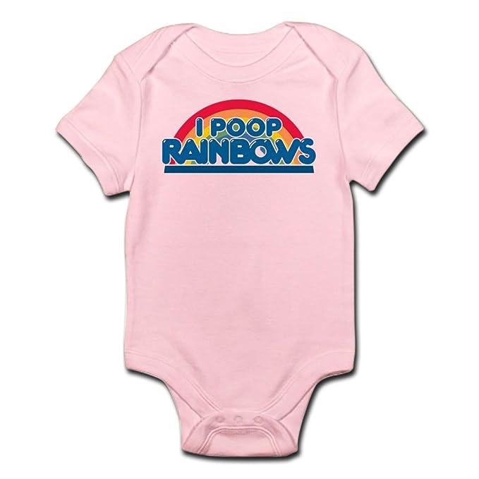 Infant Rainbow Science Peace Love Onesies Bodysuits