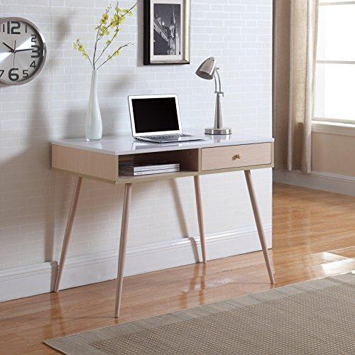 madison home mid-century modern small work/computer desk