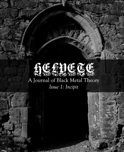 Helvete: A Journal of Black Metal Theory: Issue -