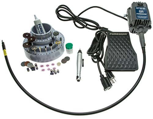 Quick Change Jewelers Kit w/FCT Foot Pedal - K-2220 by Foredom