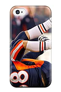 Iphone 4/4s Case Cover - Slim Fit Tpu Protector Shock Absorbent Case (von Miller)