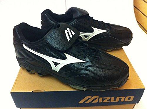 (Mizuno Classic G3 Low Metal Baseball Cleats Black Size 14)