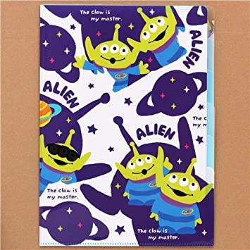 Carpeta A4 5 apartados marciano alien planeta Toy Story: Amazon.es ...