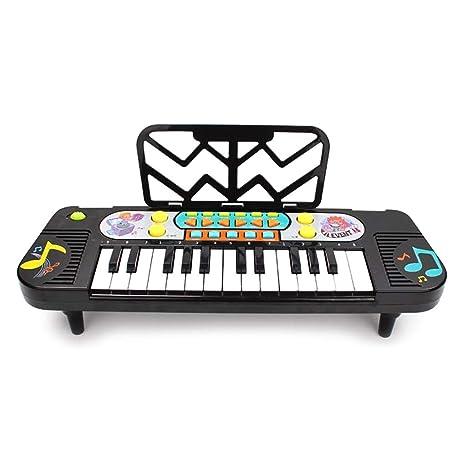 WRYWTH Teclado Juguete educación temprana Rompecabezas Sonido iluminación Piano niña pequeña Juguete Piano