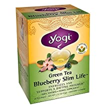 Yogi Green Tea Blueberry Slim Life - SWB409220 by YOGI