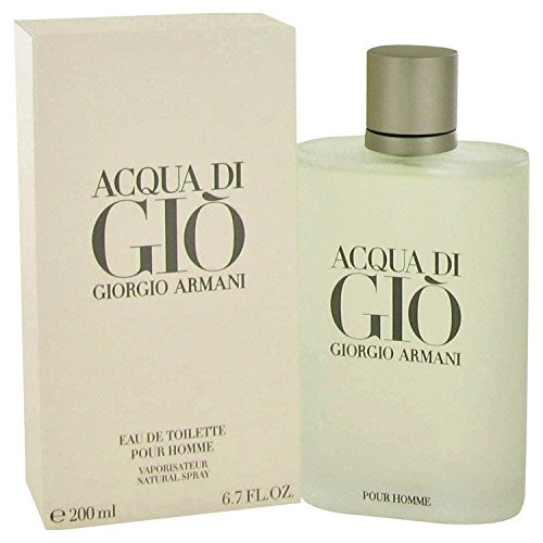 Acqua di Gio by Giorgio Armani for Men Eau de Toilette Spray, 6.7 Fl - Gio Armani Men
