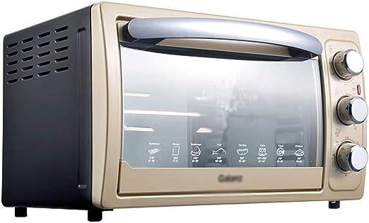 Pojrhfy Cocina Horno Horno Hogar Horno Multifunción de 30 litros Horno eléctrico de Gran Capacidad Hornos de Cocina: Amazon.es