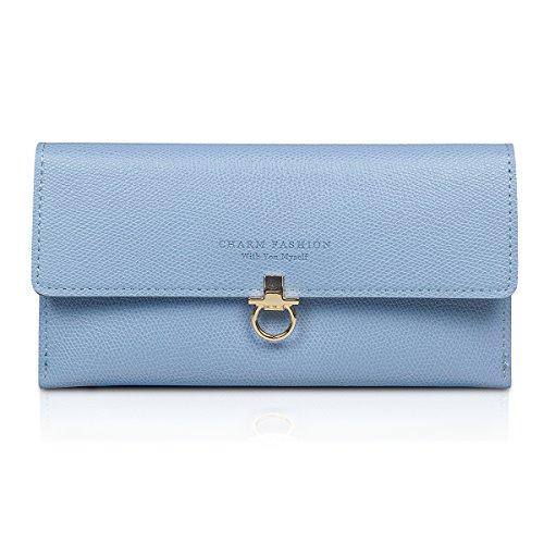 Fency Women's Clutch Multi-Card Faux Leather Wallet Long Bi-fold - Discount Gift Card Myer