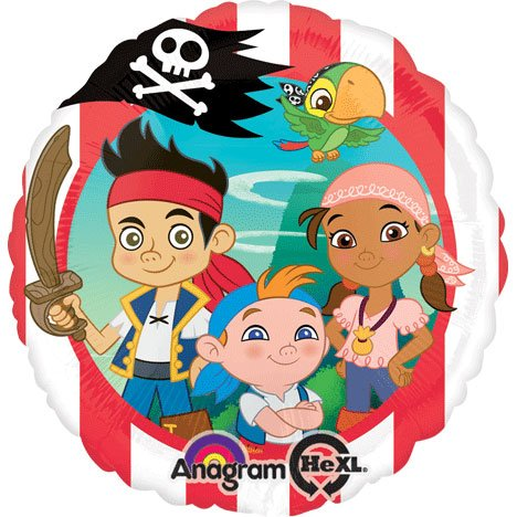 Anagram International Hx Jake Neverland Pirates Party Balloons,