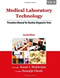 img - for Medical Laboratory Technology, (Volume II): Procedure Manual for Routine Diagnostic Tests book / textbook / text book