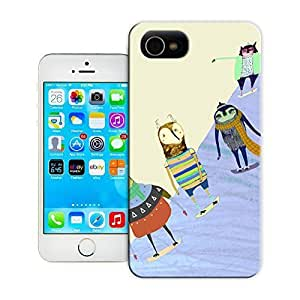 THYde Unique Phone Case Snow Boarding Dudes Hard Cover for iPhone 5c cases-buythecase ending