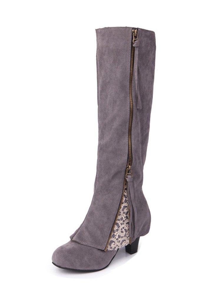 Minetom Donna Autunno Inverno Eleganti al Stivali al Eleganti Stivaletti   ec471a