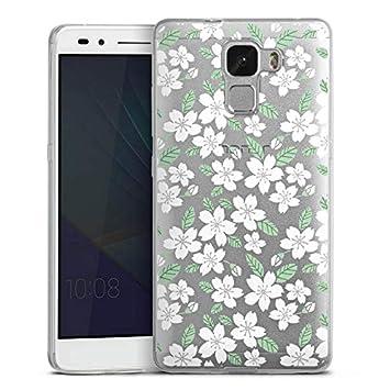 DeinDesign Huawei Honor 6 X Slim Case Carcasa de Silicona Flores ...