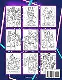 Cyberpunk 2077 Coloring Book: The Ultimate Creative