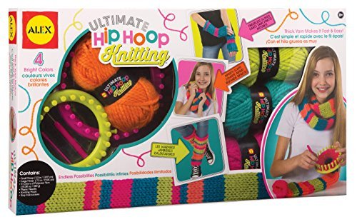 ALEX Toys Craft Ultimate Hip Hoop Knitting by Alex