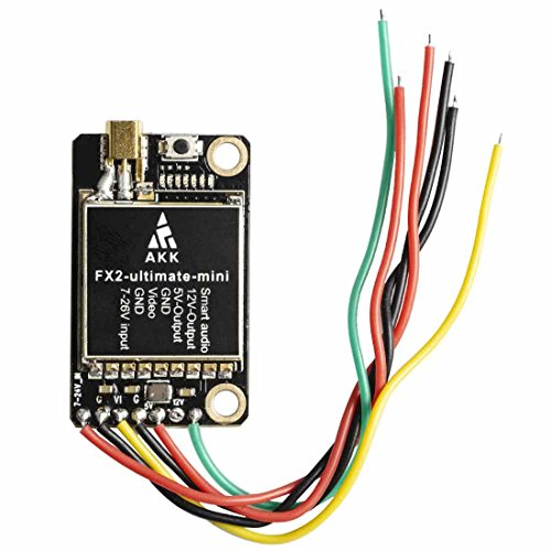 AKK FX2-ultimate-mini(US Version) 5 8GHz 37CH Smart Audio VTX Support OSD  Configuring via Betaflight Flight Control Board Long Range FPV Transmitter