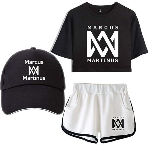 Marcus & Martinus Camiseta Traje Bordado Gorra de Beisbol ...