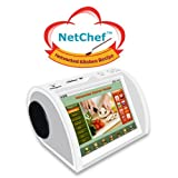NetChef (PF809) Networked Kitchen Recipe With 500 Preloaded Worldwide Recipes With Audio, Video photo, and eBook formats