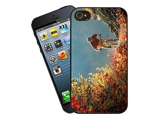 Mountainbiking 03 iPhone Case - passen diese Abdeckung Apple Modell 5 und 5 s - von Eclipse-Geschenk-Ideen