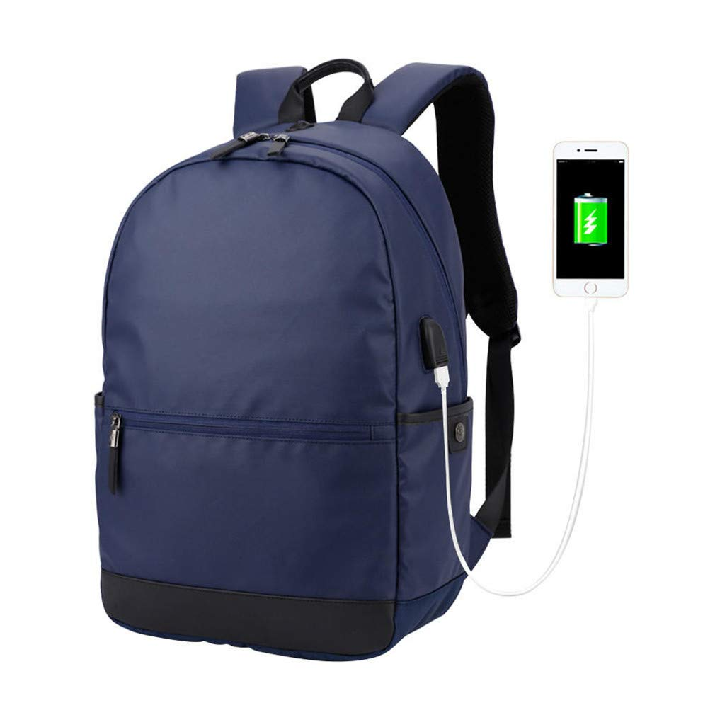 Amazon.com: Backpack Male College High Middle School Bags for Teenager Boy Girls Laptop Pu Leather Backpacks Black: Sports & Outdoors