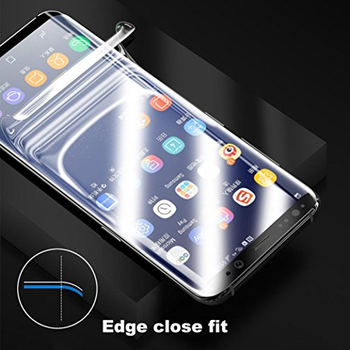 Sunfei Front+Back Ultra Thin Clear TPU Screen Protector Film For Samsung Galaxy S9/ Samsung Galaxy S9 Plus (6.2inch) by Sunfei (Image #2)