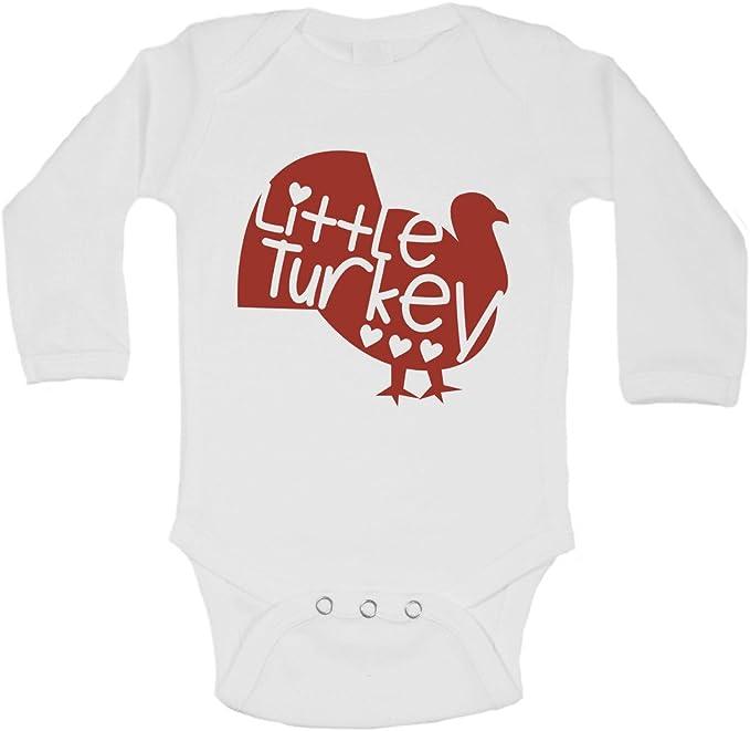 Thanksgiving Baby Onesie\u00ae Modern Thanksgiving Baby Onesie\u00ae Cute Fall Onesie\u00ae Little Turkey Onesie\u00ae